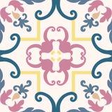 Telhas coloridas sem emenda do ornamento Imagens de Stock