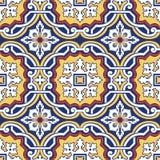 Telhas coloridas sem emenda do ornamento Fotografia de Stock Royalty Free