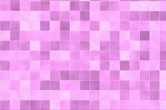 Telhas cor-de-rosa aleatórias do banheiro ilustração stock