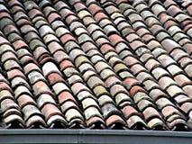 Telhas curvadas Imagem de Stock