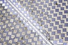 Telhas da parede com a Lisboa velha típica Fotos de Stock Royalty Free
