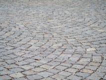 Telhas de assoalho medievais no teste padrão de arqueamento Imagem de Stock Royalty Free