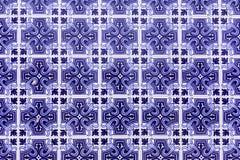 Telhas de Azulejo, Portugal fotografia de stock