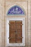 Telhas de Iznik na mesquita de Selimiye Foto de Stock