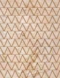 Telhas de mármore bege da decoração Imagens de Stock Royalty Free