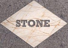 Telhas de mármore da decoração Fotografia de Stock Royalty Free