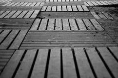 Telhas de madeira Fotos de Stock