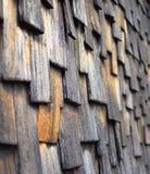 Telhas de madeira Imagem de Stock
