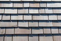 Telhas de madeira Imagem de Stock Royalty Free
