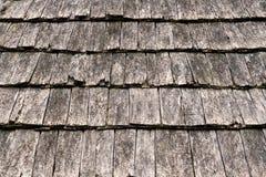 Telhas de madeira da agitação Imagens de Stock Royalty Free
