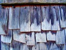 Telhas de madeira da telha Foto de Stock Royalty Free