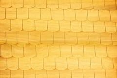 Telhas de madeira de Brown Imagens de Stock Royalty Free