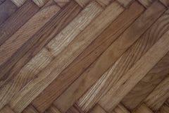 Telhas de madeira do fundo da textura Assoalho interior ou desi exterior Foto de Stock Royalty Free