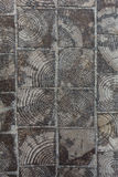 Telhas de madeira dos cotoes de árvore Imagem de Stock