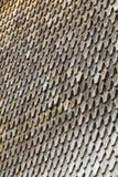 Telhas de madeira no telhado Imagem de Stock