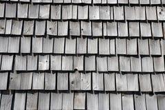 Telhas de madeira tradicionais Foto de Stock Royalty Free