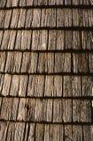 Telhas de madeira velhas Fotos de Stock