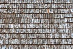 Telhas de madeira velhas Fotos de Stock Royalty Free