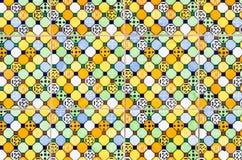 Telhas de mosaico foto de stock