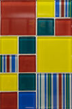 Telhas de mosaico Foto de Stock Royalty Free