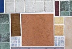 Telhas de mosaico cerâmicas imagens de stock