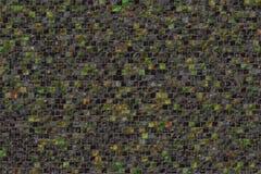 Telhas de mosaico coloridas pequenas imagens de stock