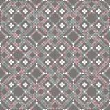 Telhas de mosaico do assoalho nas cores pastel ilustração do vetor