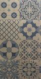 Telhas de mosaico do teste padrão da mistura Fotografia de Stock Royalty Free