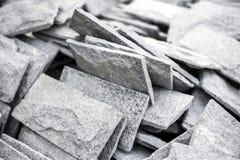 Telhas de pedra Fotografia de Stock