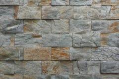 Telhas de pedra da fachada Foto de Stock Royalty Free