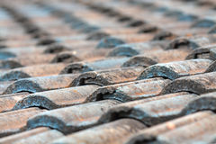 Telhas de telhado Fotografia de Stock Royalty Free