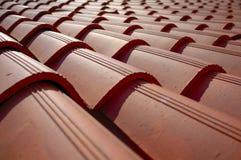 Telhas de telhado Imagens de Stock Royalty Free
