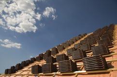Telhas de telhado 2 Foto de Stock