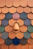 Telhas de telhado Foto de Stock Royalty Free