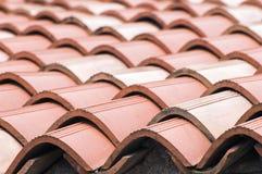 Telhas de telhado Imagem de Stock Royalty Free
