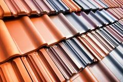 Telhas de telhado Fotos de Stock Royalty Free
