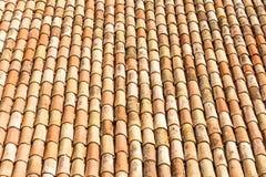 Telhas de telhado antigas Imagem de Stock Royalty Free
