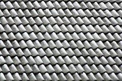 Telhas de telhado após a queda de neve foto de stock royalty free