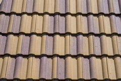 Telhas de telhado cerâmicas Imagem de Stock Royalty Free
