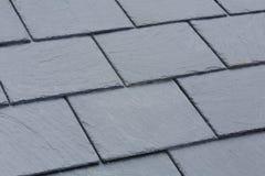 Telhas de telhado da ardósia imagens de stock