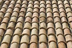 Telhas de telhado de Provence. France Imagem de Stock