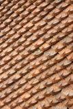 Telhas de telhado em um templo fotografia de stock royalty free
