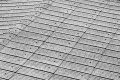 Telhas de telhado para o fundo ou a textura Imagens de Stock Royalty Free