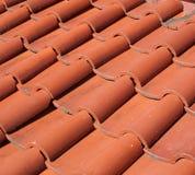 Telhas de telhado tradicionais chinesas Foto de Stock