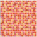 Telhas de vidro alaranjadas e cor-de-rosa Ilustração Royalty Free