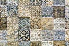 Telhas do banheiro da parede Foto de Stock Royalty Free