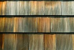 Telhas do cedro Fotografia de Stock