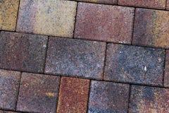 telhas do pavimento na cor marrom amarela e cinzenta imagem de stock royalty free