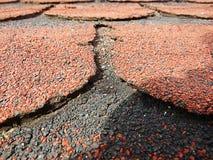 Telhas do telhado Fotos de Stock Royalty Free