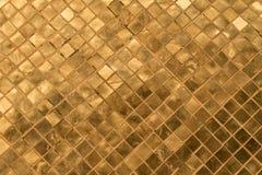 Telhas douradas Fotografia de Stock